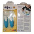 Difrax babybestek blauw 2-delig