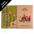 Frog children's cutlery 4-pieces
