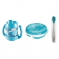 Babyset blauw 3-delig