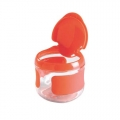 Flip-Top snackdoosje klein oranje