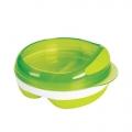 Voedingsbord met vakjes groen