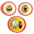 Circus kinderservies melamine 3-delig
