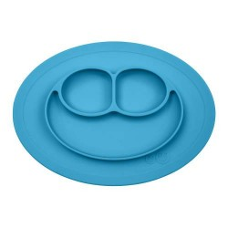 Mini Mat kinderplacemat blauw