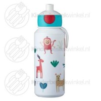 Animal Friends drinkfles Campus pop-up 400 ml