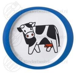 Boerderij dieren plat kinderbord melamine