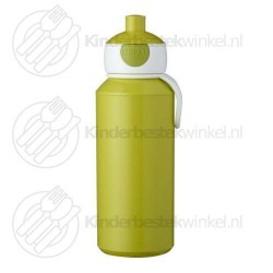 Drinkfles campus pop-up lime 400 ml
