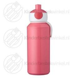 Drinkfles campus pop-up roze 400 ml