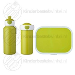 Lunchset Campus lime