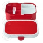 Lunchset Campus rood
