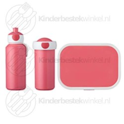 Lunchset Campus roze