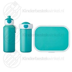 Lunchset campus turquoise
