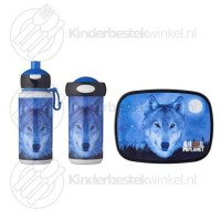 Animal Planet wolf lunchset campus