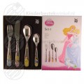 Princess kinderbestek 4-delig (Disney)
