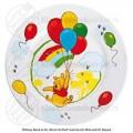 Winnie the Pooh kinderbord porselein