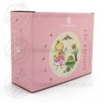 Prinses kinderservies bamboe rvs 6-delig