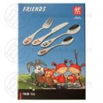 Friends kinderbestek kleur 4-delig